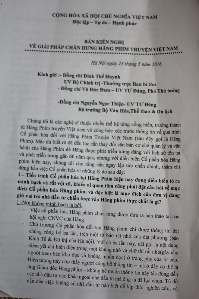 Dien vien dong 'Thi No' keu cuu cho Hang phim truyen VN hinh anh 3