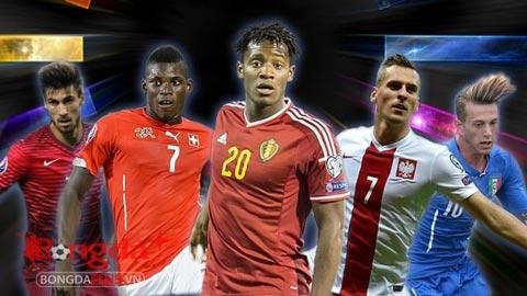 5 tài năng trẻ vô danh sẽ tỏa sáng ở EURO 2016