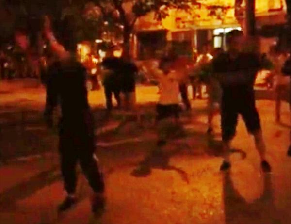 Màn flashmob mở đầu