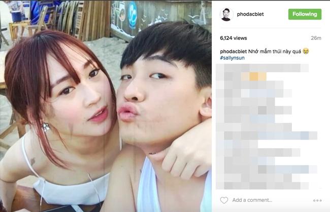Phở Đặc Biệt tự tay đăng ảnh Sun Ht tình tứ hôn má, gián tiếp thừa nhận chuyện hẹn hò - Ảnh 1.
