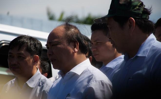 Thu tuong lam viec voi Da Nang vu tau chim tren song Han hinh anh 2