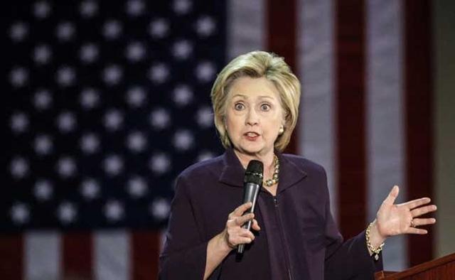 Bà Hillary Clinton. (Ảnh: NDTV)