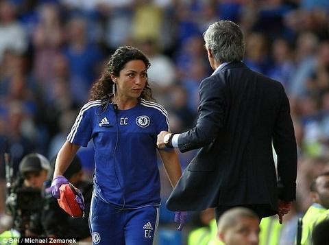 Bac si Eva Carneiro gian du voi cach hanh xu cua Jose Mourinho va Chelsea.