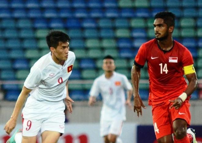 Thang Singapore 3-0, Viet Nam vo dich cup tu hung Myanmar hinh anh 1