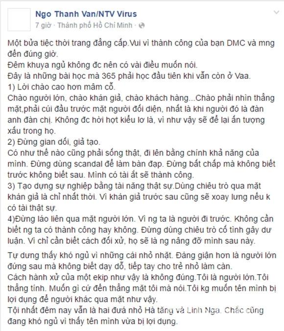 Ngô Thanh Vân bóng gió Angela Phương Trinh 0