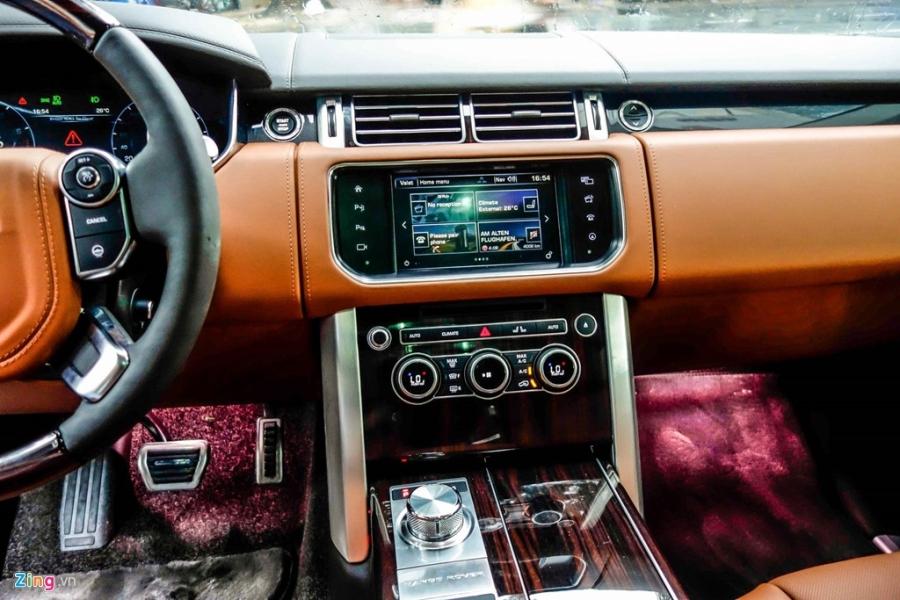 Chi tiet SUV dat nhat Viet Nam Range Rover SVAutobiography hinh anh 6