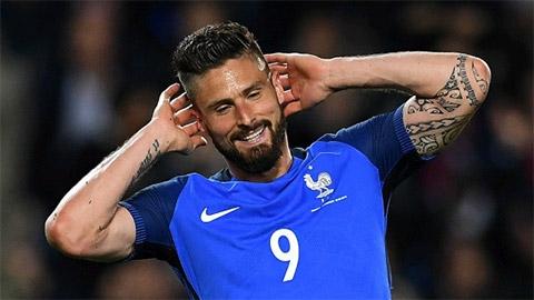 Giroud không đáng bị CĐV Pháp la ó