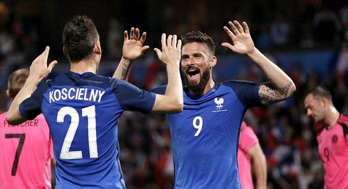 Giroud vẫn đang có hiệu suất ghi bàn đáng nể tại ĐT Pháp thời gian qua
