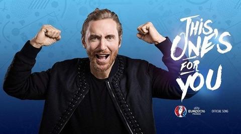 David Guetta trình diễn ca khúc chủ đề của EURO 2016