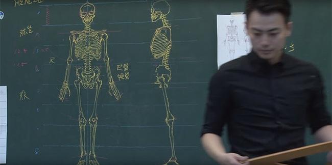 Thầy giáo soái ca đã đẹp trai lại còn vẽ đẹp nhất thế giới - Ảnh 1.