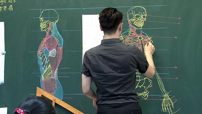 Thầy giáo soái ca đã đẹp trai lại còn vẽ đẹp nhất thế giới - Ảnh 2.