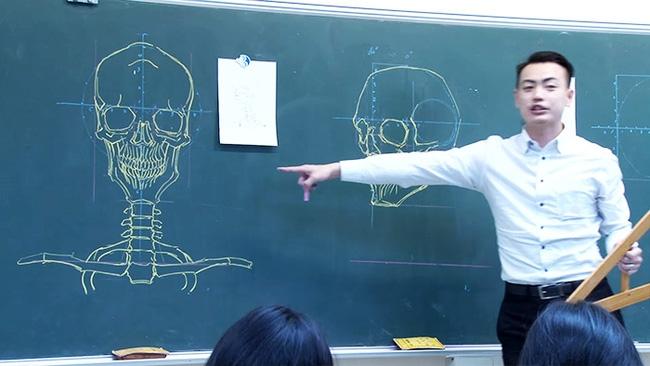 Thầy giáo soái ca đã đẹp trai lại còn vẽ đẹp nhất thế giới - Ảnh 4.