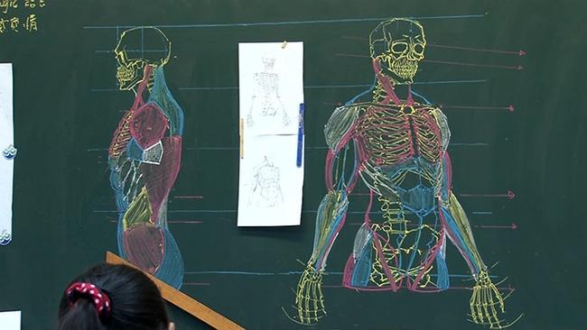 Thầy giáo soái ca đã đẹp trai lại còn vẽ đẹp nhất thế giới - Ảnh 6.