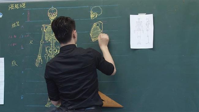 Thầy giáo soái ca đã đẹp trai lại còn vẽ đẹp nhất thế giới - Ảnh 7.