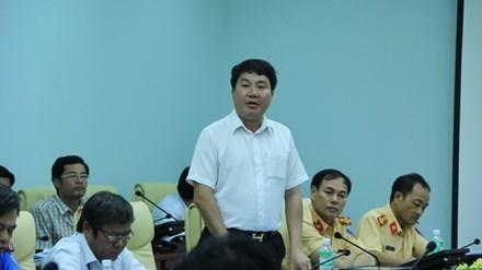 Ông Lê Sáu - Giám đốc Cảng vụ Đà Nẵng người đã bị đình chỉ chức danh giám đốc vì quản lý yếu kém.