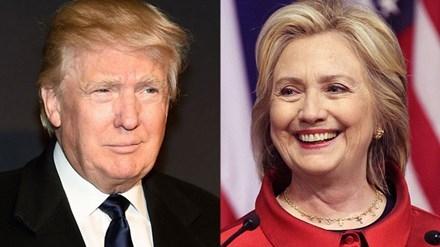 Ông Donald Trump và bà Hillary Clinton, cử tri Mỹ sẽ chọn ai làm tổng thống? Ảnh: Getty Images