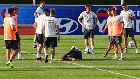 ĐT Đức mất trung vệ trước ngày khai hội EURO