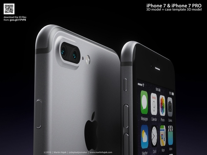 iPhone 7 sắc nét dưới con mắt nhà thiết kế
