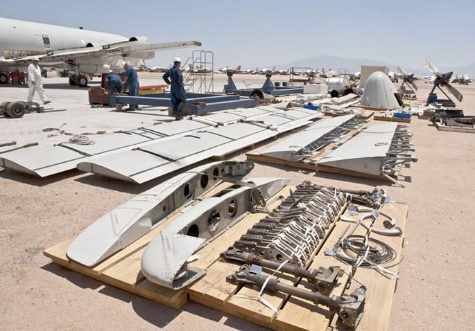 Lockheed Martin phục hồi và tân trang máy bay P-3 Orion như thế nào - ảnh 3