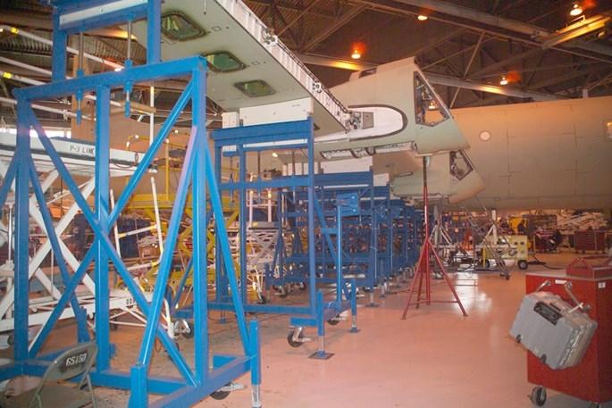 Lockheed Martin phục hồi và tân trang máy bay P-3 Orion như thế nào - ảnh 5