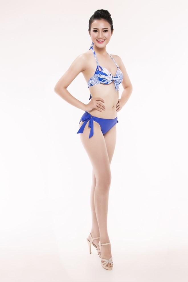 Nguoi dep Hoa hau Viet Nam 2016 tao dang voi bikini hinh anh 10