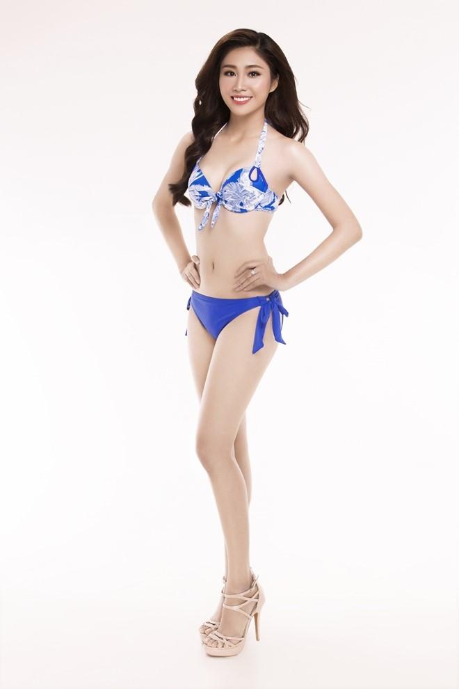 Nguoi dep Hoa hau Viet Nam 2016 tao dang voi bikini hinh anh 15