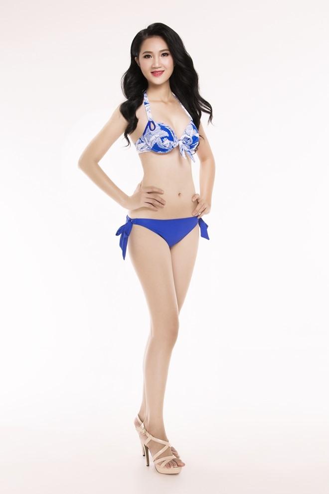 Nguoi dep Hoa hau Viet Nam 2016 tao dang voi bikini hinh anh 20