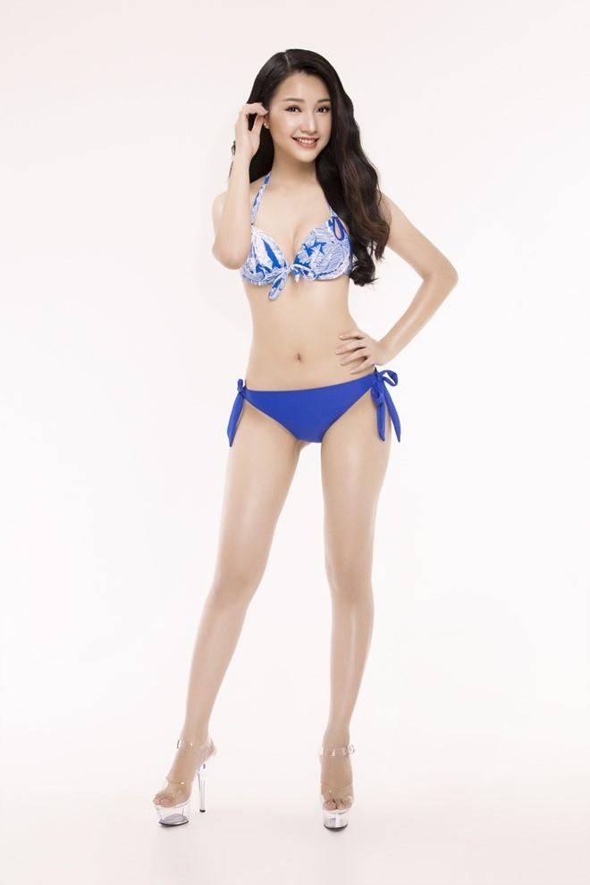 Nguoi dep Hoa hau Viet Nam 2016 tao dang voi bikini hinh anh 27