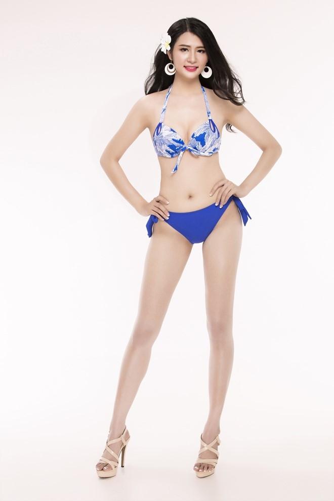 Nguoi dep Hoa hau Viet Nam 2016 tao dang voi bikini hinh anh 28