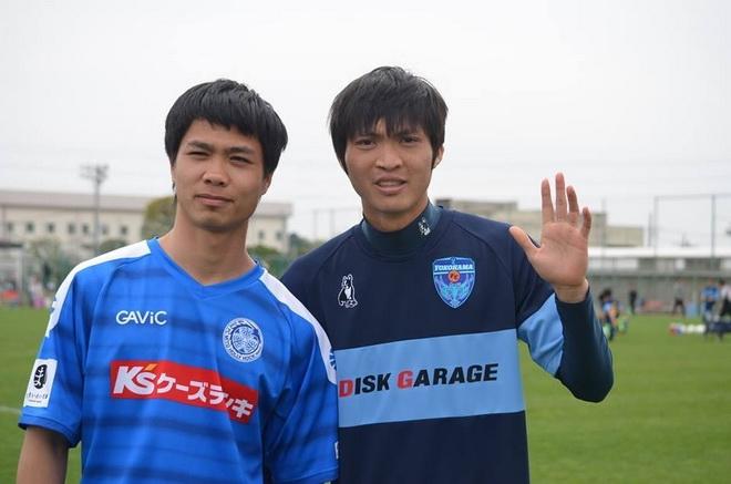 Công Phượng, Tuấn Anh, Mito Hollyhock, Yokohama, J.League 2
