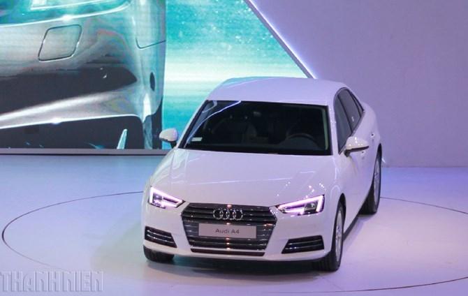 Audi A4 2016 chốt giá 1,65 tỉ đồng, hâm nóng cuộc chiến xe sang - ảnh 1