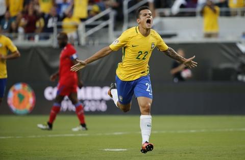 Coutinho đã có một ngày thi đấu ấn tượng