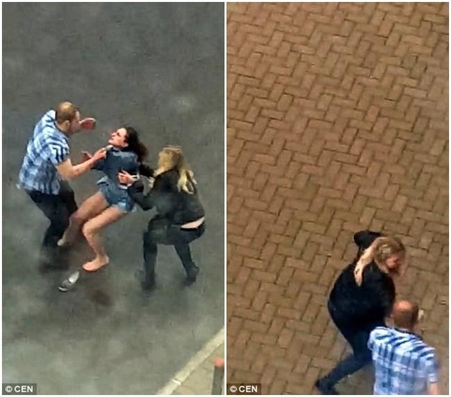 Dỗ dành bất thành, gã đàn ông hung hãn quay sang đánh người yêu dã man ngay giữa đường - Ảnh 3.