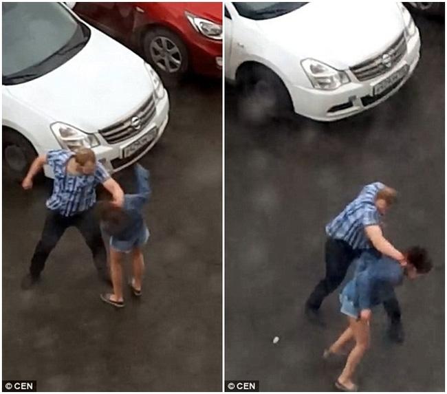 Dỗ dành bất thành, gã đàn ông hung hãn quay sang đánh người yêu dã man ngay giữa đường - Ảnh 4.