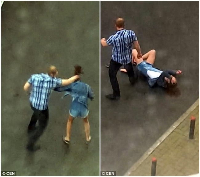 Dỗ dành bất thành, gã đàn ông hung hãn quay sang đánh người yêu dã man ngay giữa đường - Ảnh 5.