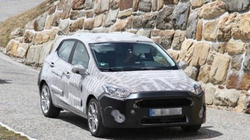 Lộ ảnh Ford Fiesta 2018 thiết kế thay đổi toàn diện - ảnh 4