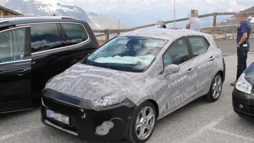 Lộ ảnh Ford Fiesta 2018 thiết kế thay đổi toàn diện - ảnh 6