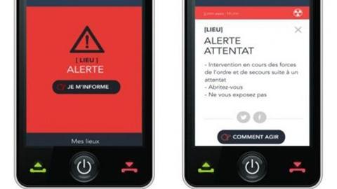 Pháp ra mắt ứng dụng cảnh báo khủng bố trên điện thoại