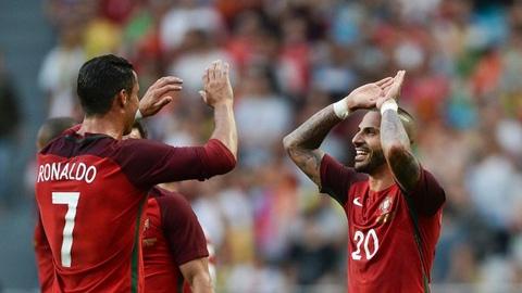 Ronaldo lập cú đúp, Bồ Đào Nha tổng duyệt hoàn hảo trước thềm EURO