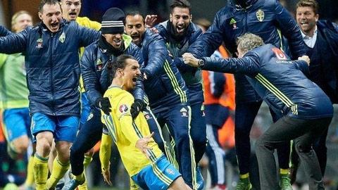 Thụy Điển đang sống nhờ Ibrahimovic