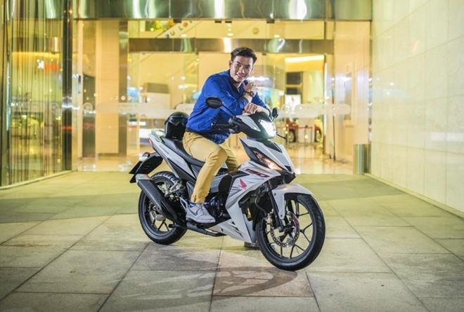 Honda Winner 150 - xe con tay cho dan phuot hinh anh 2