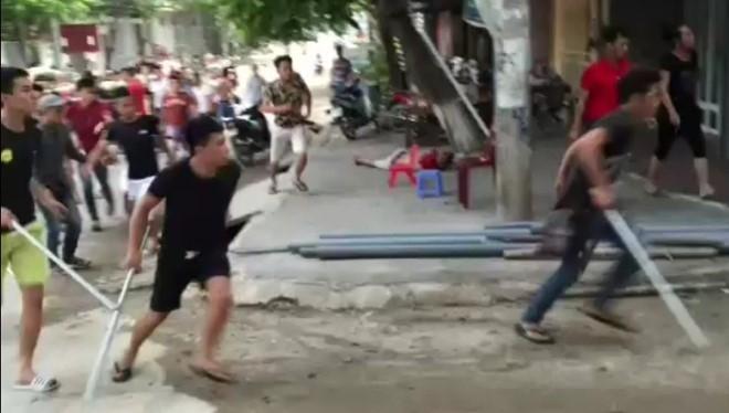 Khoi to, bat 10 nghi pham vu giang ho danh nguoi o Phu Tho hinh anh 1