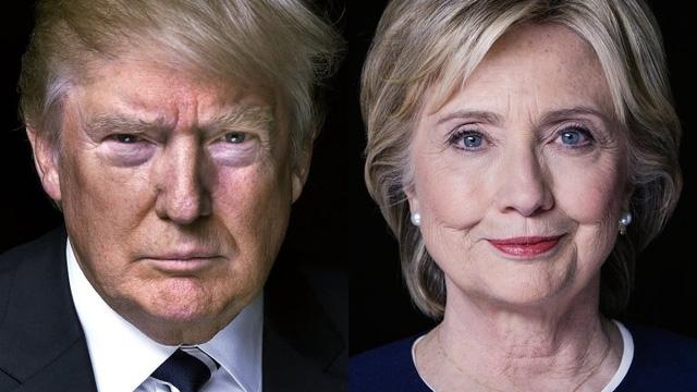 Tỷ phú Donald Trump và cựu Ngoại trưởng Hillary Clinton (Ảnh: thegospelcoalition)