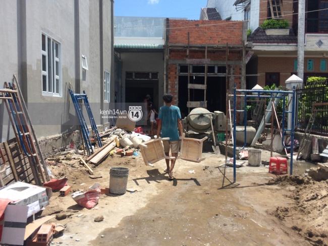 Trước ngày cưới 4 ngày, nhà của Kỳ Hân vẫn đang sửa chữa - Ảnh 2.