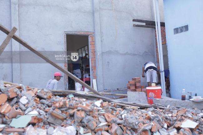 Trước ngày cưới 4 ngày, nhà của Kỳ Hân vẫn đang sửa chữa - Ảnh 4.