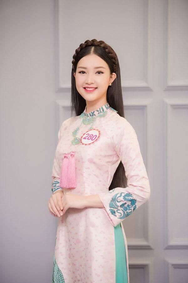 Gặp lại nữ sinh áo dài nổi tiếng nhất xứ Huế tại Hoa hậu Việt Nam 2016 - Ảnh 5.