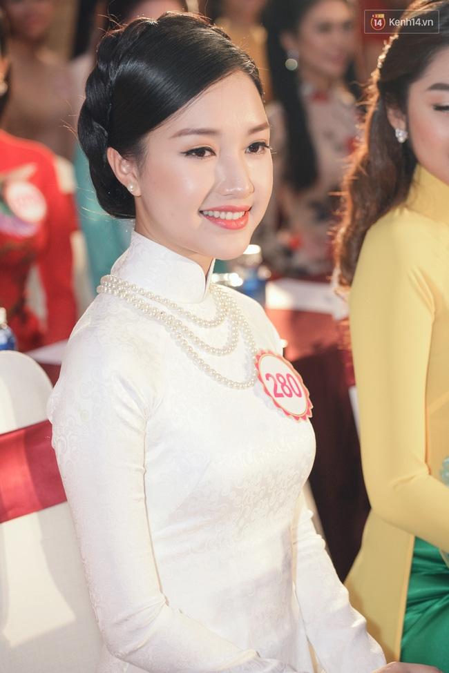 Gặp lại nữ sinh áo dài nổi tiếng nhất xứ Huế tại Hoa hậu Việt Nam 2016 - Ảnh 6.