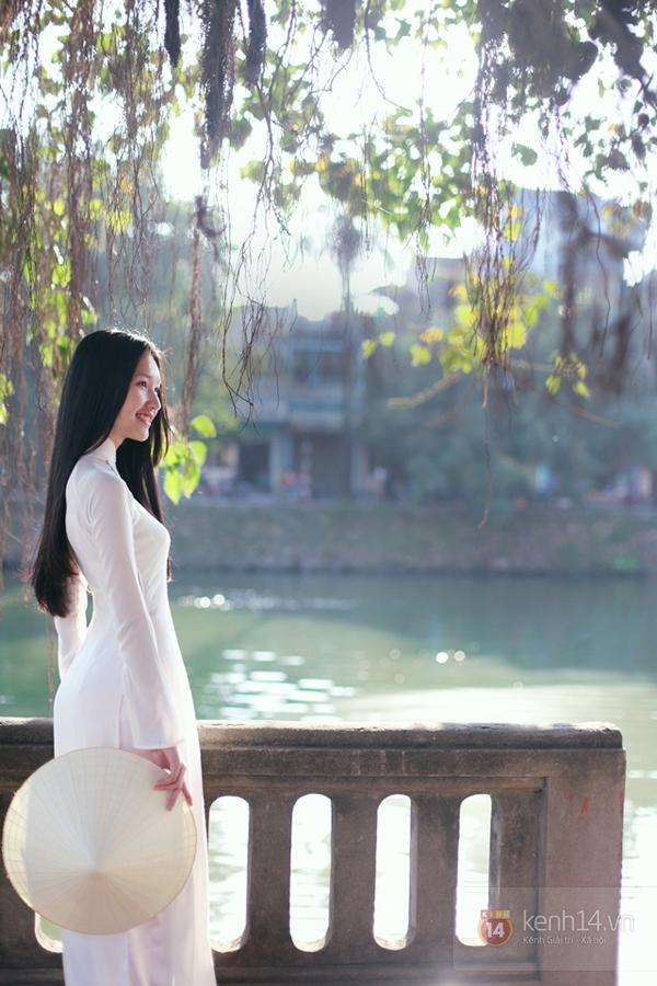 Gặp lại nữ sinh áo dài nổi tiếng nhất xứ Huế tại Hoa hậu Việt Nam 2016 - Ảnh 9.
