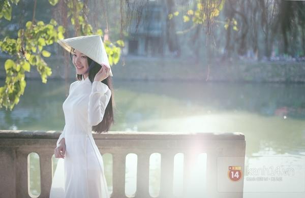 Gặp lại nữ sinh áo dài nổi tiếng nhất xứ Huế tại Hoa hậu Việt Nam 2016 - Ảnh 11.