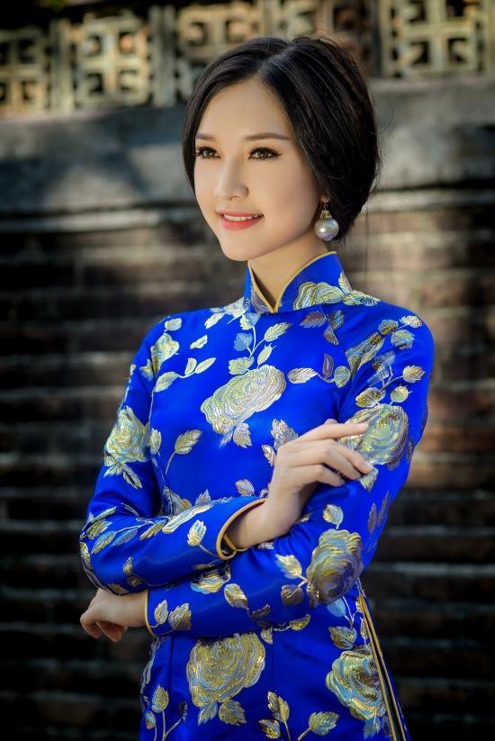 Gặp lại nữ sinh áo dài nổi tiếng nhất xứ Huế tại Hoa hậu Việt Nam 2016 - Ảnh 14.